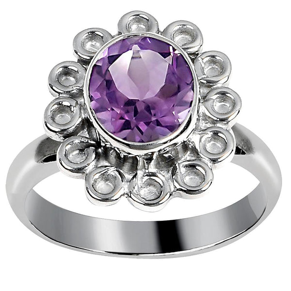 Quality Jewelry 2.75 Carat Amethyst Fashion Ring