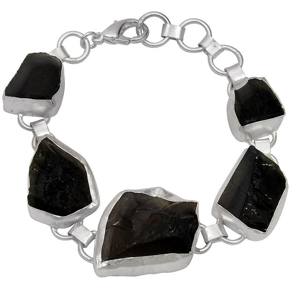 Quality Jewelry 90.00 Carat Genuine Smoky Quartz Fashion bracelet