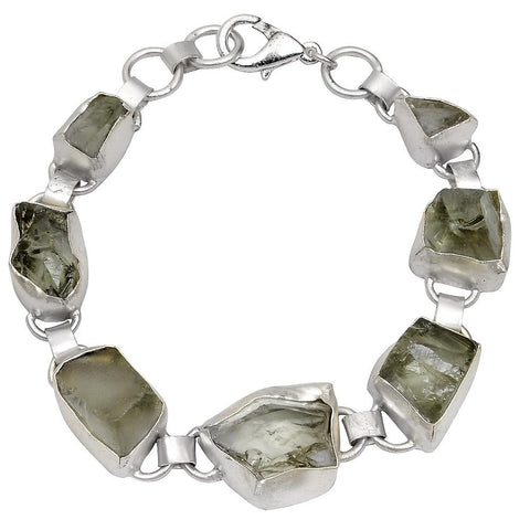 Quality Jewelry 80.00 Carat Green Amethyst Fashion Bracelet