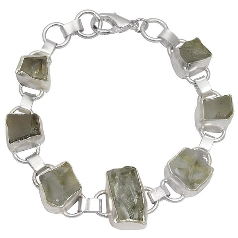 Quality Jewelry 75.00 Carat Green Amethyst Fashion Bracelet
