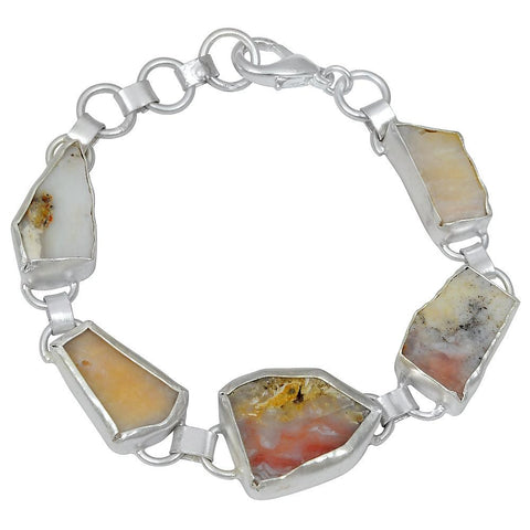 Quality Jewelry 45.00 Carat Agate Fashion Bracelet