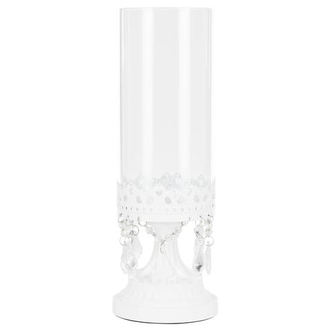 White Hurricane Candle Holder | Amalfi Decor AU