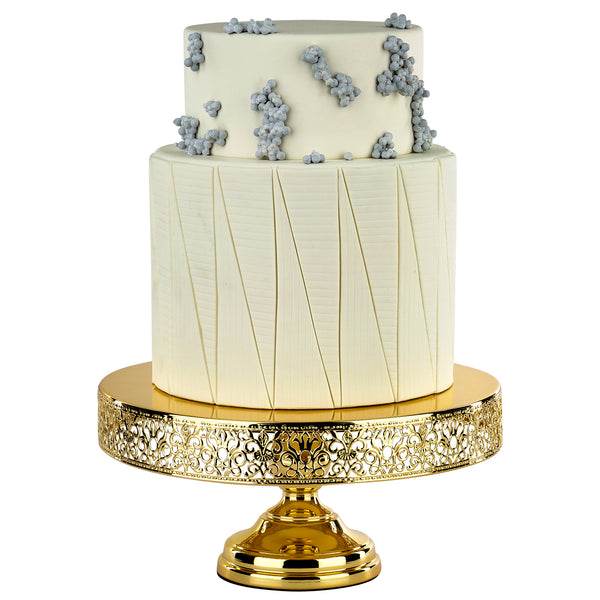 14-Inch Gold Plated Wedding Cake Stand | Amalfi Decor AU