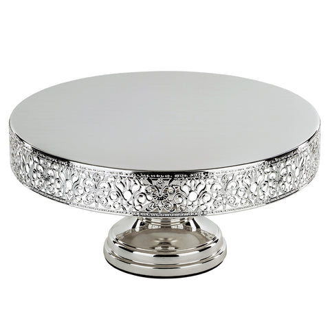 14-Inch Silver Plated Wedding Cake Stand | Amalfi Decor AU