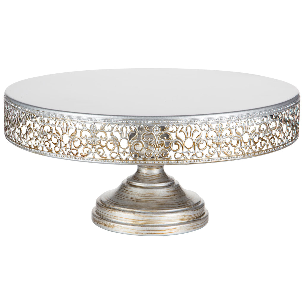 white wedding cake stand 14 inch 14 inch antique silver wedding cake stand amalfi decor au 27388