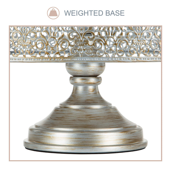 16 inch wedding cake stand 40cm 16 inch antique silver wedding cake stand amalfi 1028