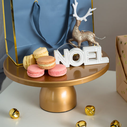 12-Inch Gold Modern Wedding Cake Stand | Amalfi Decor AU