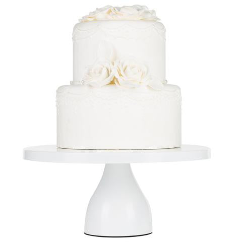 12-Inch White Modern Wedding Cake Stand | Amalfi Decor AU