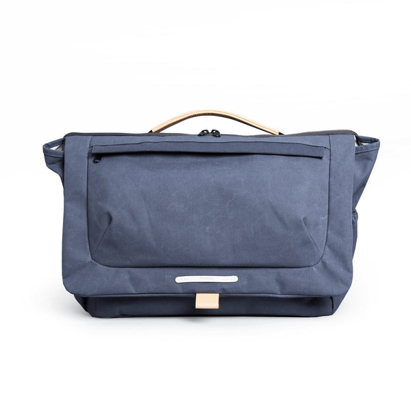"'R Cross 330' Raw Waxed 15"" Navy"