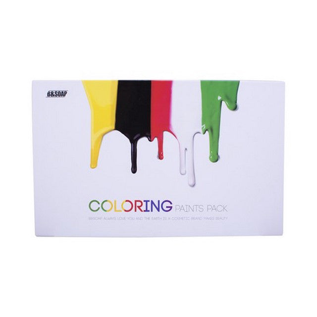 Coloring Paints Pack Mask Facial