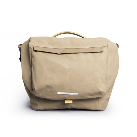 "'R Bag 540' Raw Waxed 13"" Beige"