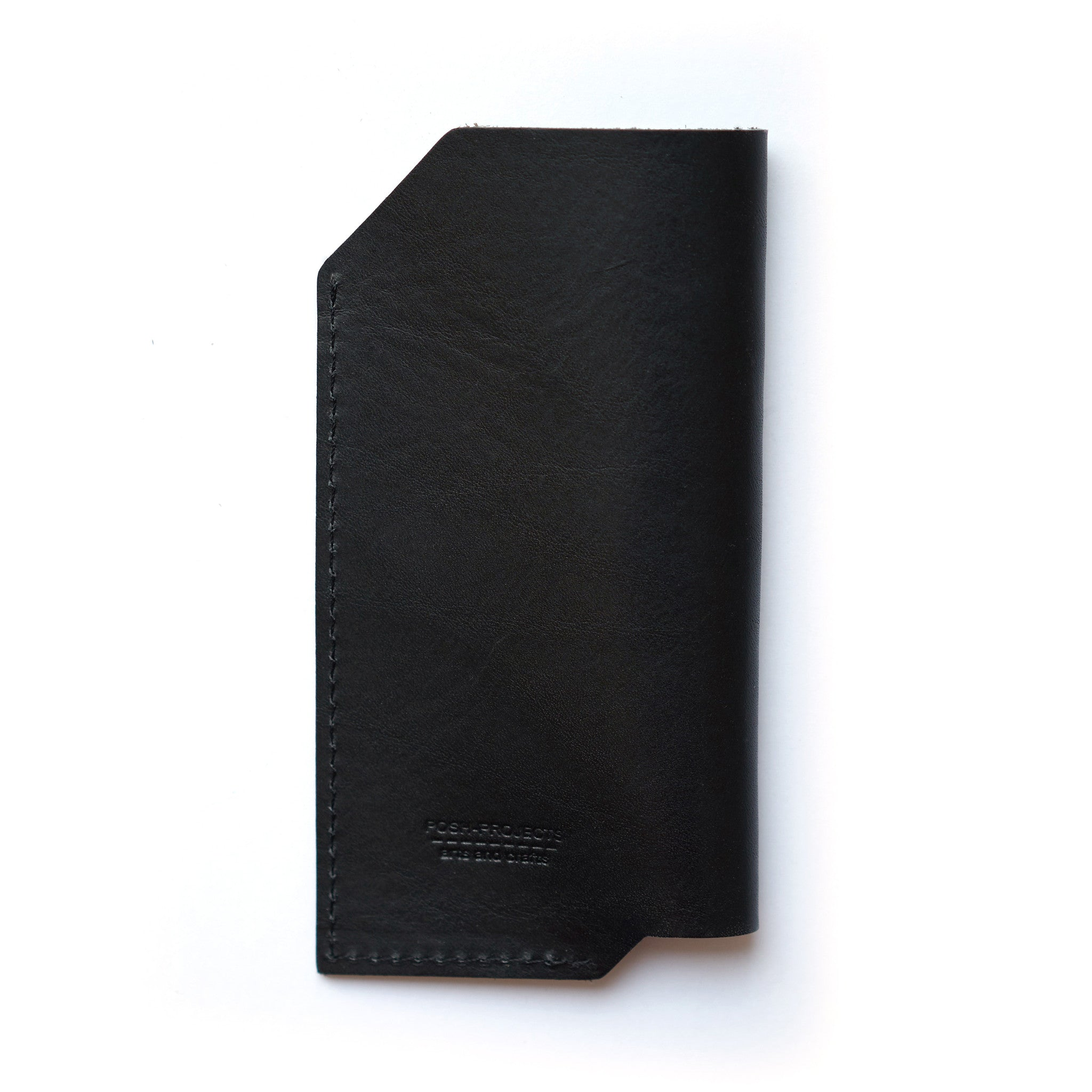 '501' iPhone Vegetable Leather Sleeve Black