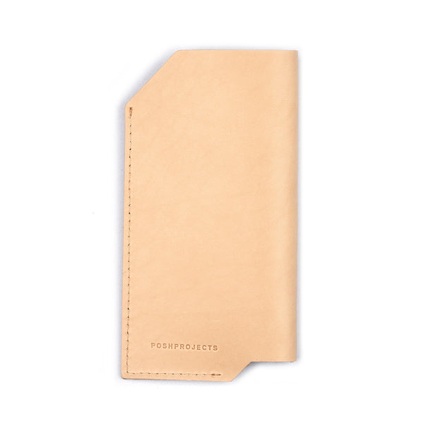 '501' iPhone Vegetable Leather Sleeve Natural