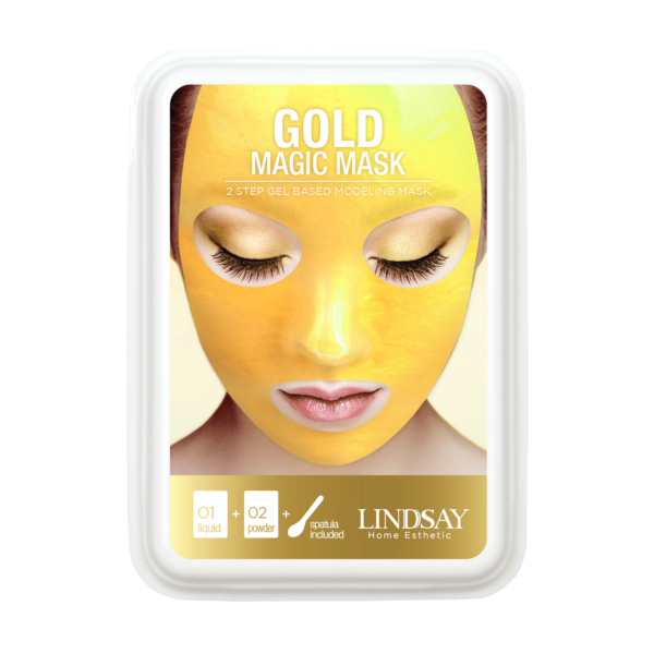 Gold Modeling 'Rubber' Mask