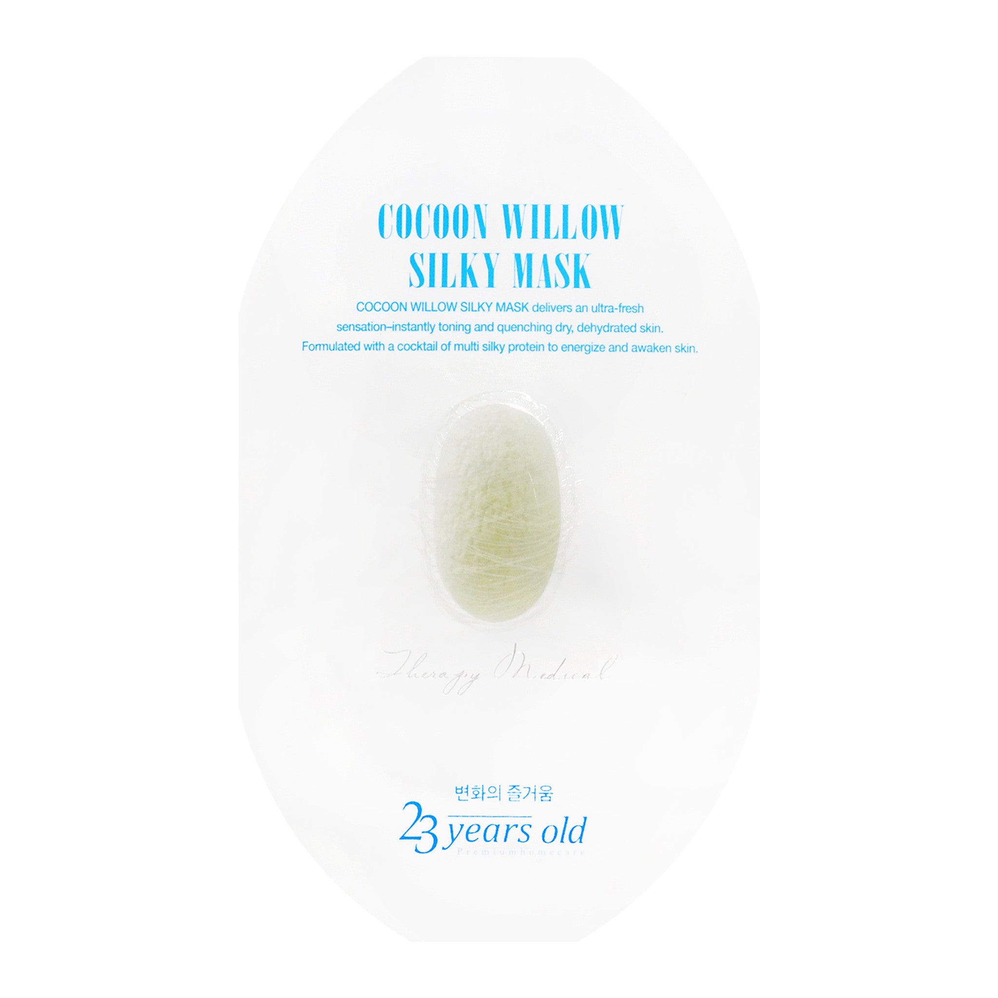Cocoon Willow Silky Sheet Mask