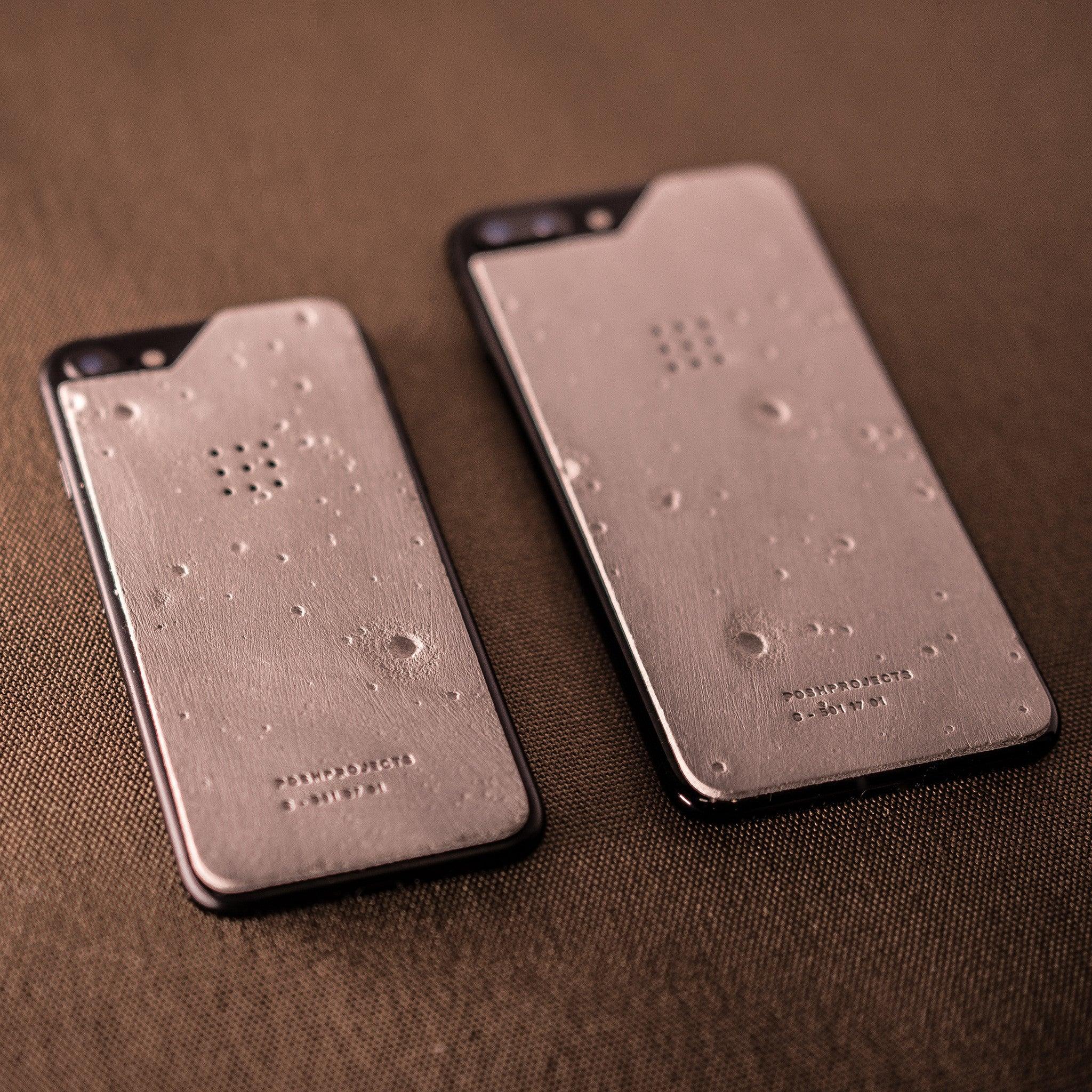 'Luna' Concrete iPhone Skin with Craters