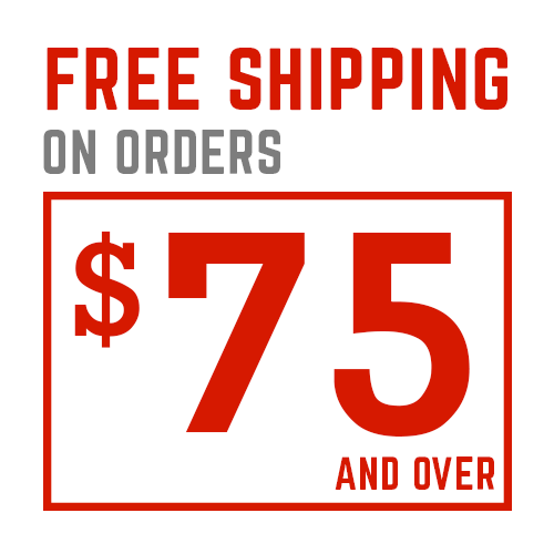 Free Shipping on Order $75 or More