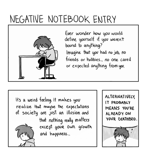 Negative Notebooks