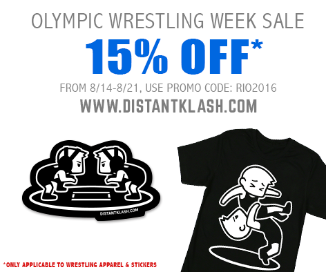Olympic Wrestling Week Sale!
