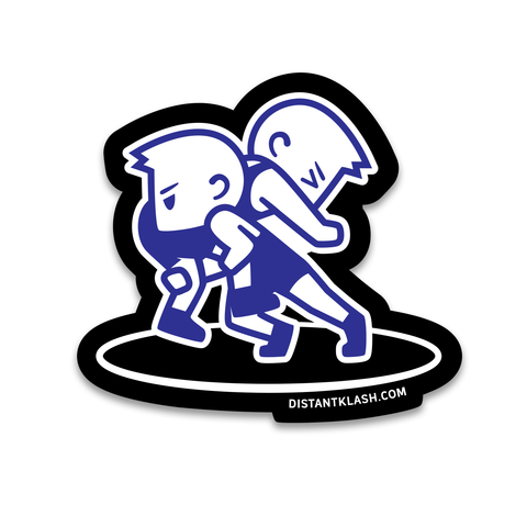 Double Takedown - Sticker