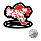 Wrestling - Boys Headlock Throw Sticker
