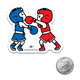 Boxing - Boys Punch Sticker