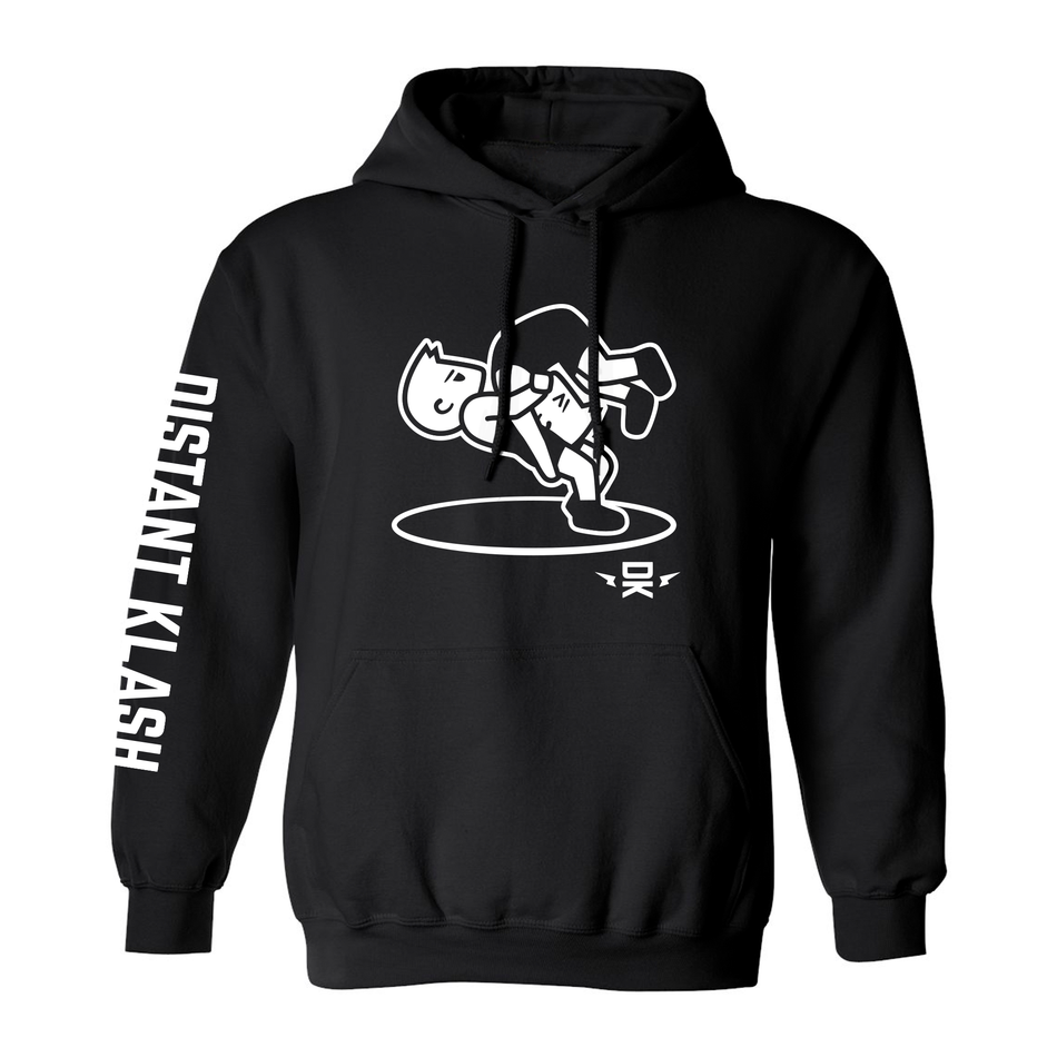 Wrestling - Boys Headlock Throw Hoodie