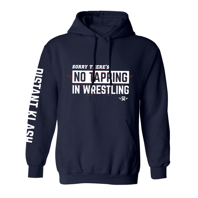 Wrestling - No Tapping In Wrestling Hoodie