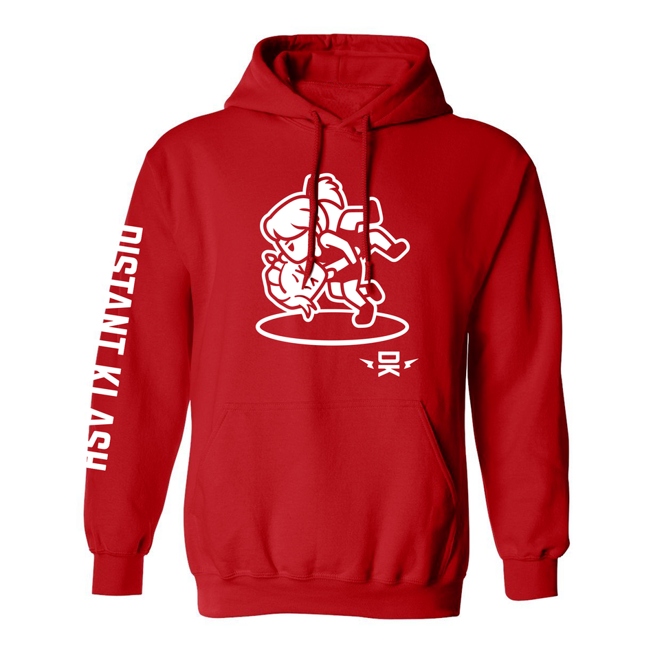 Wrestling - Girls Head and Arm Throw Hoodie
