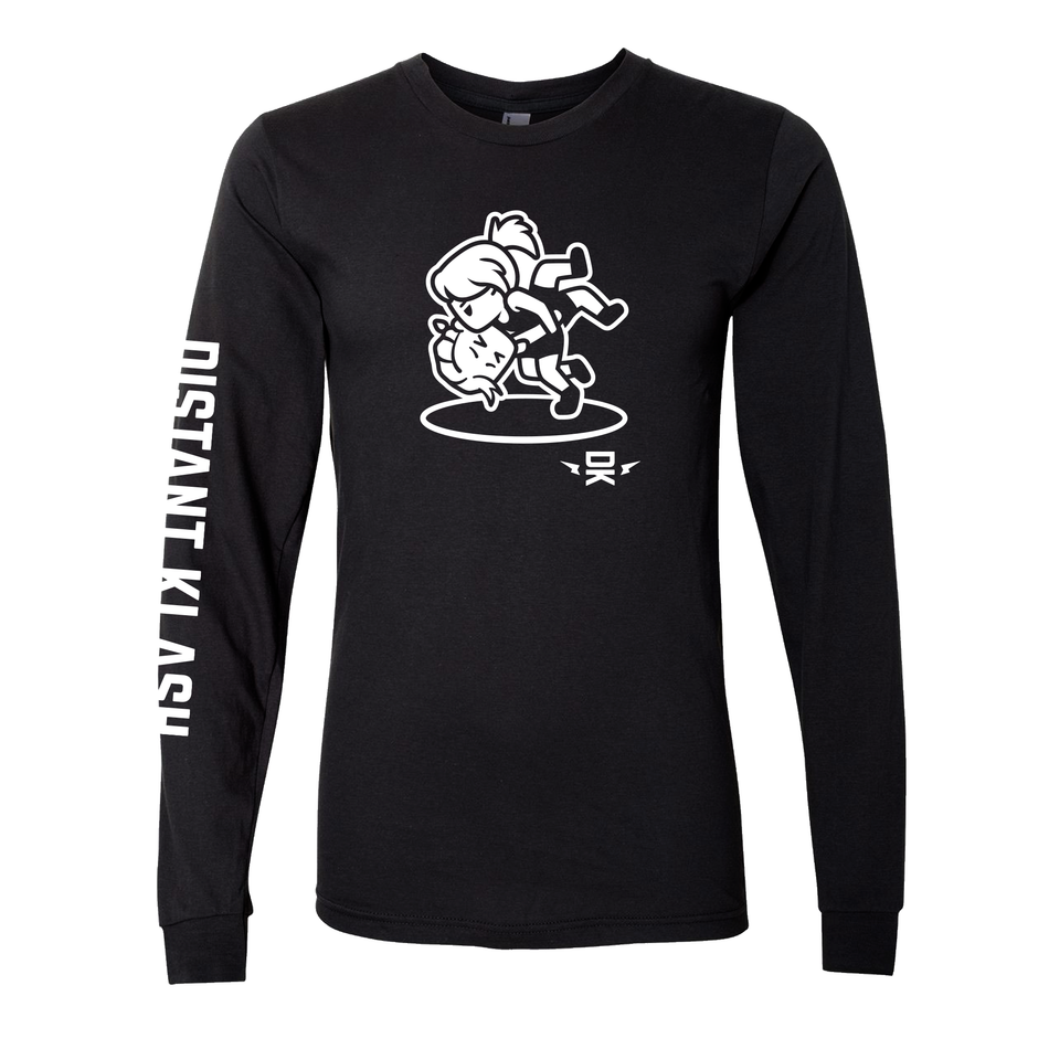 Wrestling - Girls Head and Arm Throw Long-Sleeve Shirt