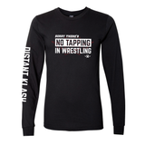 Wrestling - No Tapping In Wrestling Long-Sleeve Shirt