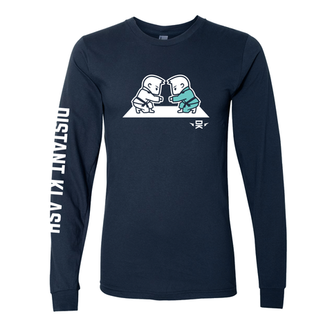 BJJ - Boys Fist Bump Long-Sleeve Shirt