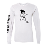 Martial Arts - Girls Karate Punch Long-Sleeve Shirt