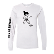Martial Arts - Girl Karate Punch Long-Sleeve Shirt