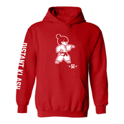 Martial Arts - Girls Karate Punch Hoodie