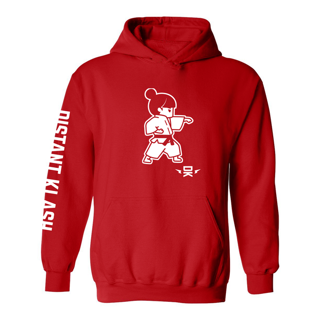 Martial Arts - Girl Karate Punch Hoodie