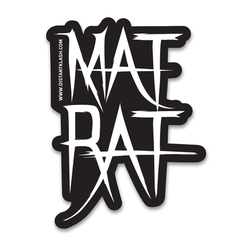 Mat Rat Sticker