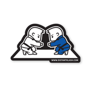 BJJ - Boys Fist Bump Sticker
