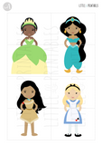 princess puzzles activity