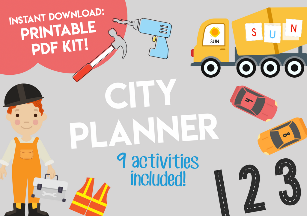 Play & Learn Kit - CITY PLANNER
