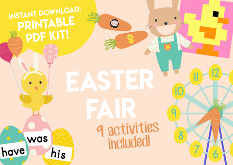 Play & Learn Kit - EASTER FAIR