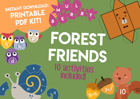 Play & Learn Kit - FOREST FRIENDS