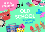 Play & Learn Kit - OLD SCHOOL