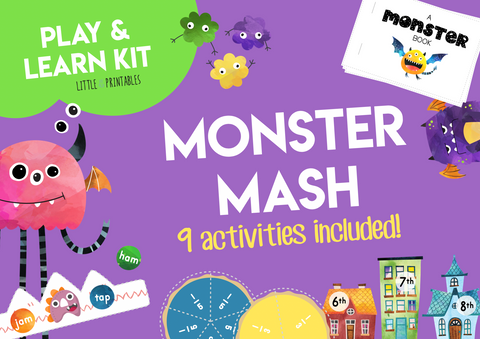 Play & Learn Kit - MONSTER MASH