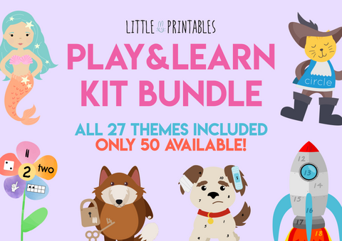 Play & Learn Kit SPECIAL BUNDLE