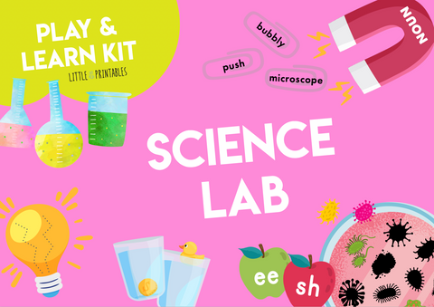 Play & Learn Kit - SCIENCE LAB