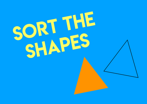 shape matching activity