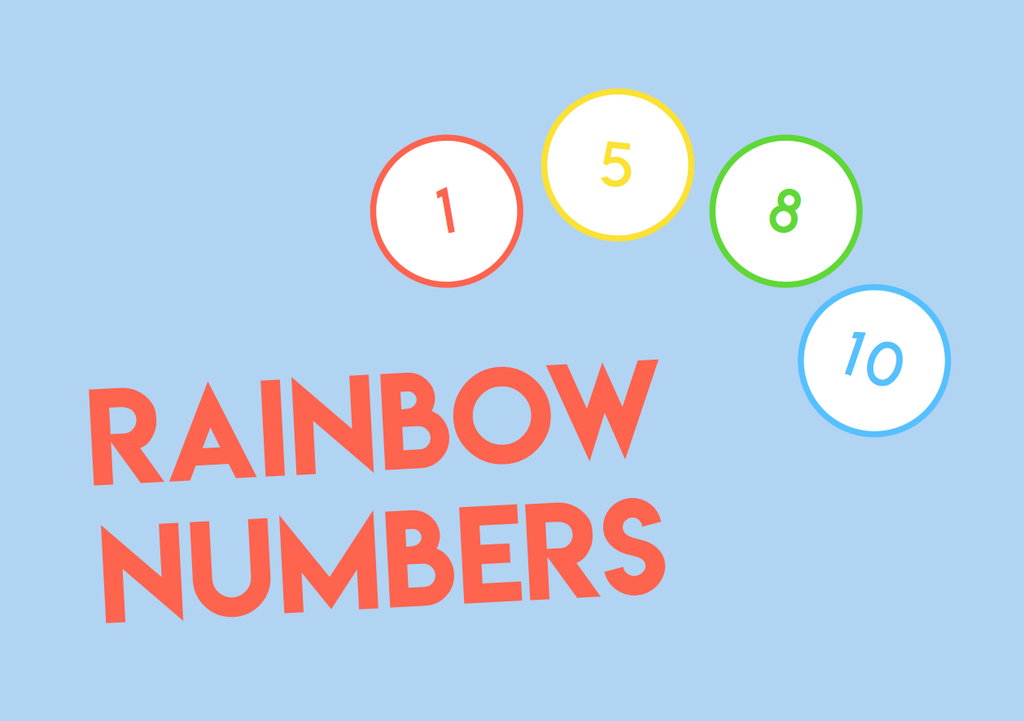 rainbow number match