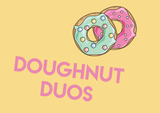 doughnut matching pairs colours patterns