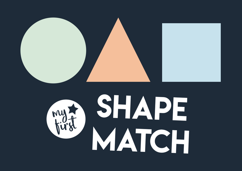 my first shape matching shapes
